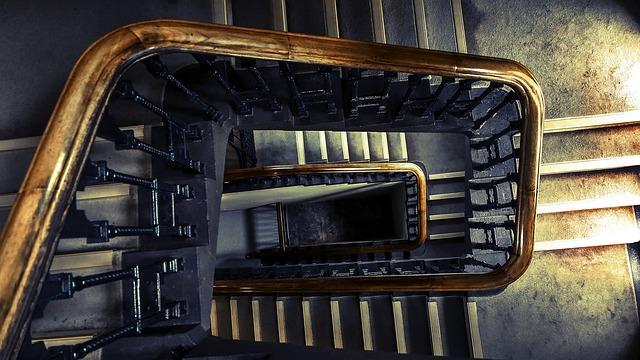 vysoké schody