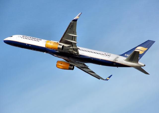 Lietadlo počas letu